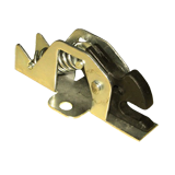 Spring Bold Latch Mechanism With Plastic Hanger